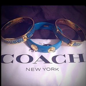Coach Turquoise Bracelets-Set of 3